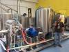 Impianto birra a cavitazione idrodinamica Birrificio San Gimignano. Stefano Botto socio fondatore Birrificio San Gimignano