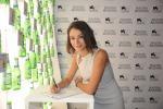 (foto archivio) L'attrice Nicole Grimaudo ha ricevuto presso lo spazio Nastro Azzurro a Venezia