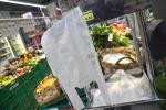 Effetto sacchetto bio pesa su consumi ortofrutta -3,5%