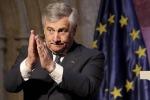 Tajani, vigileremo contro l'antisemitismo, anche su Facebook