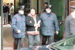 Angelo Middioni il giorno dell'arresto