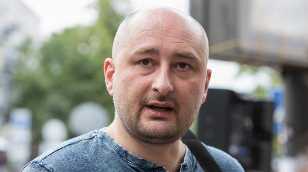 Giornalista russo morto, Sicilia, Mondo