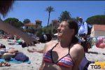 Clima estivo a Palermo, presa d'assalto la spiaggia di Mondello: le interviste ai bagnanti