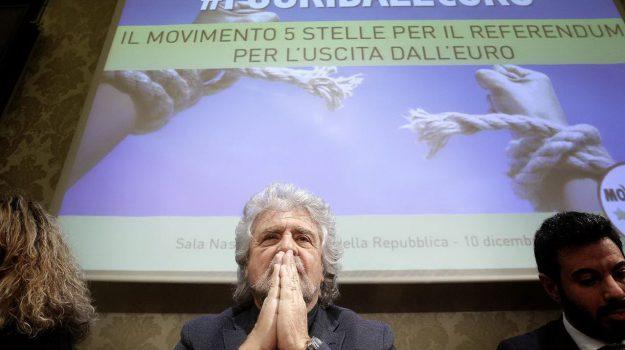 referendum euro, Beppe Grillo, Matteo Renzi, Sicilia, Politica