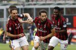 Il Milan condanna il Verona, 4-1 e veneti retrocessi in Serie B