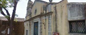 La chiesa della Madonna dell'Aiuto alla Sciara di Trecastagni