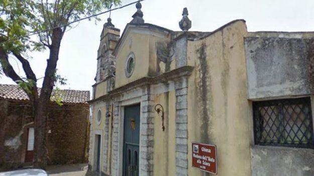 incendio chiesa trecastagni, Catania, Cronaca