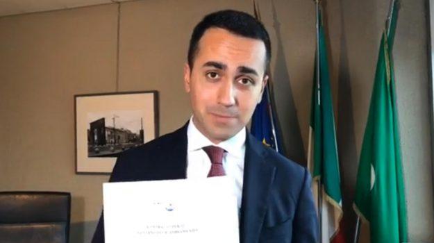 contratto governo m5s lega, governo lega-m5s, Governo M5s Lega, nuovo governo, Luigi Di Maio, Matteo Salvini, Sicilia, Politica