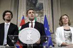 """Governo, Di Maio e Salvini fanno il nome di Conte a Mattarella: """"Sarà un esecutivo politico"""""""