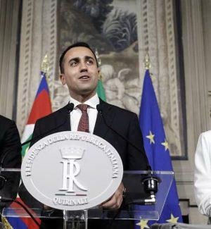 Danilo Toninelli, Luigi Di Maio e Giulia Grillo