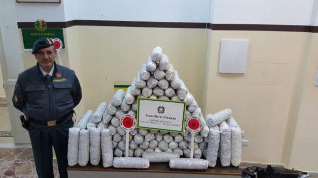 arresto corriere droga messina, marijuana messina, Messina, Cronaca