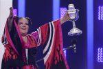 Musica e spettacolo a Lisbona per la finale dell'Eurovision: ecco le immagini più belle