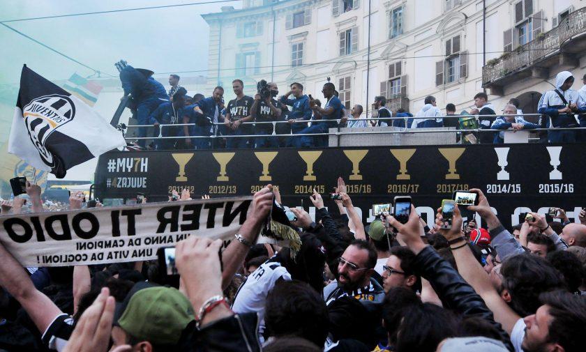 a8095d5b6f Serie A, festa scudetto per la Juventus: le immagini della ...