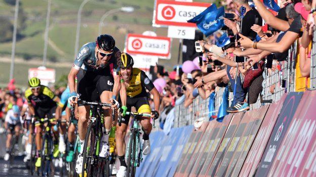 Giro d'Italia caltanissetta etna, Sicilia, Sport