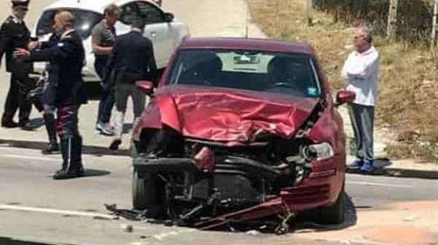 incidente giro d'italia, Agrigento, Cronaca