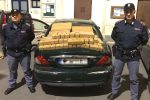 Bagheria, sequestrati 100 chili di hashish: arrestati tre napolitani