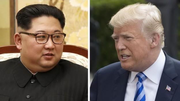 corea del nord - usa, incontro trump kim jong-un, Donald Trump, Kim Jong-un, Sicilia, Mondo