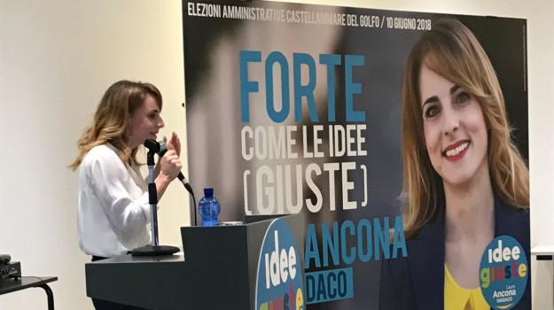 elezioni castellammare, Laura Ancona, Trapani, Politica