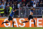 Il gol di Vecino porta l'Inter in Champions: le immagini della vittoria sulla Lazio