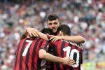 Le immagini della goleada alla Fiorentina, rossoneri in Europa League