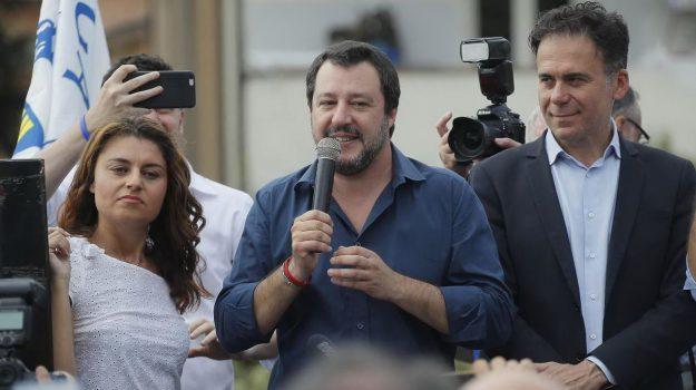 migranti salvini, Matteo Salvini, Sicilia, Politica