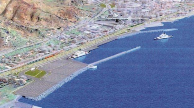 nuovo porto di tremestieri, Messina, Economia