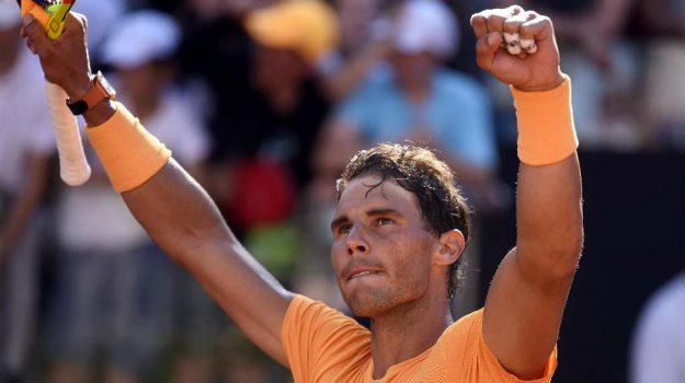 internazionali bnl d'italia, Tennis, Novak Djokovic, Rafa Nadal, Sicilia, Sport