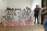 Non c'è il servizio mensa, protestano gli studenti di Scienze Politiche a Palermo