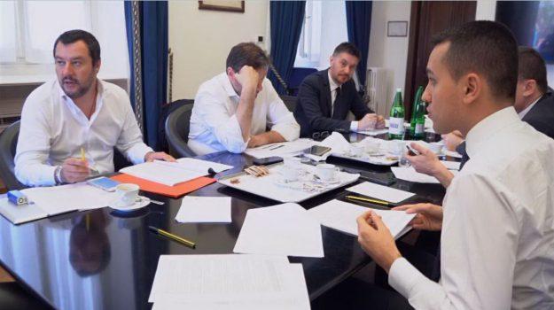 governo lega-m5s, Luigi Di Maio, Matteo Salvini, Sicilia, Politica