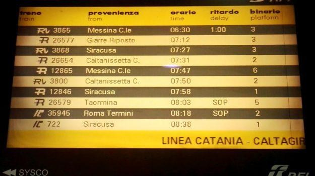 ritardo treni messina siracusa catania, Sicilia, Cronaca