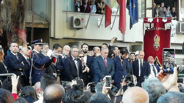 23 maggio 1992, mafia, strage capaci, strage via d'amelio, Giovanni Falcone, Paolo Borsellino, Sergio Mattarella, Palermo, Cronaca