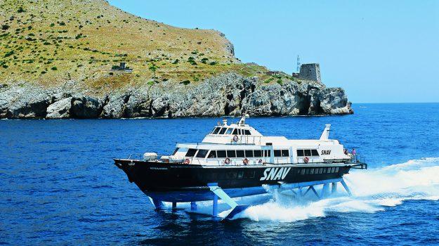 traghetto napoli eolie, Messina, Economia