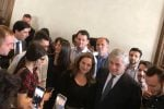 Antonio Tajani all'università di Catania