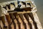Sequestrate a Catania armi detenute irregolarmente, due indagati