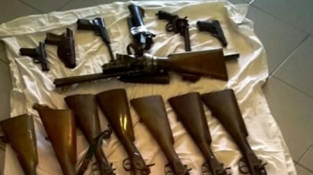 sequestro armi catania, Catania, Cronaca