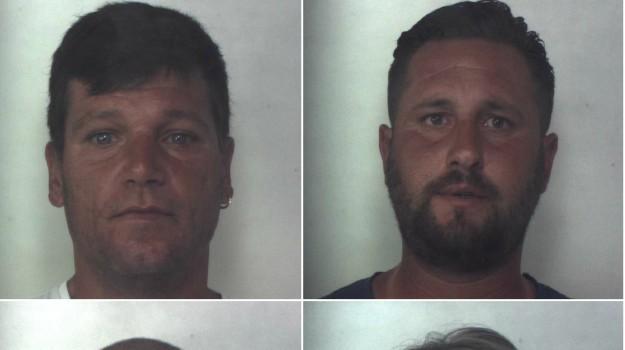 Intimidazione al sindaco Garozzo, i nomi e le foto dei 4 arrestati a Siracusa