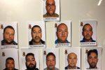Blitz di mafia alla Noce, il pizzo anche agli ambulanti per la festa religiosa: nomi e foto degli arrestati