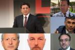 """Inchiesta """"Double Face"""", nomi e foto degli altri arrestati con Montante"""