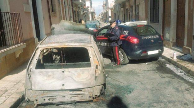 auto bruciate solarino, Siracusa, Cronaca