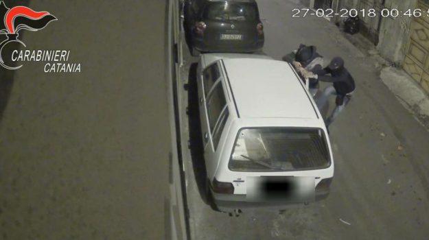 auto a fuoco paternò, Catania, Cronaca