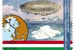 Il francobollo emesso per i 90 anni della spedizione del Dirigibile Italia al Polo Nord