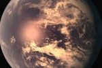 Raffigurazione artistica di Trappist 1e (Fonte: NASA/JPL-Caltech/Wikimedia)