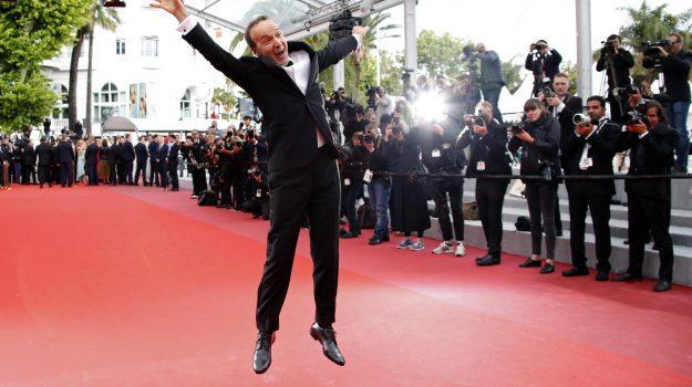"""Cannes 2018: show di Roberto Benigni sul red carpet prima di """"Lazzaro felice"""""""