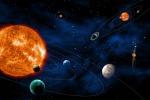 Rappresentazione artistca di sistemi planetari esterni al Sistema Solare, obiettivo della missione europea Plato (fonte: PLATO_ExoPlanets@ESA - C. Carreau)