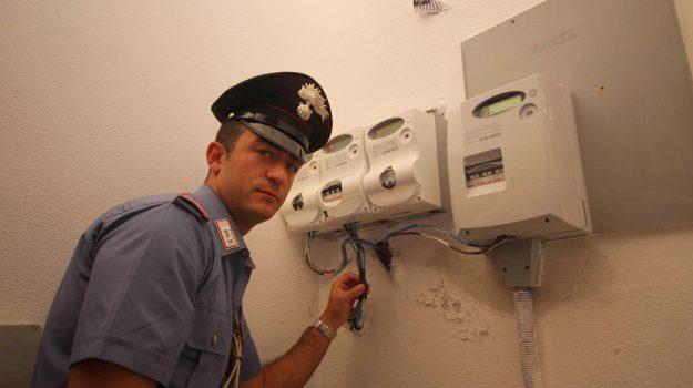 furto energia elettrica, sala ricevimenti misilmeri, Palermo, Cronaca
