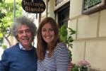 Chiara Maci a Palermo con la famiglia. Tra gusto e arte le sue foto sui social