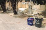 A Sciacca raccolta differenziata anche al cimitero