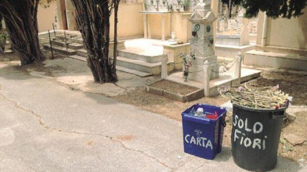 differenziata cimitero Sciacca, Agrigento, Cronaca