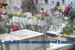 """""""Svuotavano i loculi e li rivendevano"""", blitz con 4 arresti al cimitero di San Martino delle Scale"""
