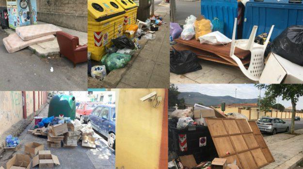 Anarchia rifiuti a Palermo: per strada viene lasciato di tutto, anche davanti alle telecamere